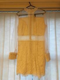Beautiful cream/white lace dress. Size L