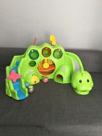 Fisher Price Drop N Roar Toy - promotes baby's hand eye coordination £9
