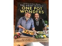 Hairy Bikers one pot wonders book as new.