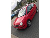Volkswagen Polo 1.2 2002 3 Door MOT February 2019 2 Keys
