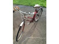 Ladies 1960s bicycle
