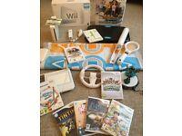MASSIVE BUNDLE - Nintendo Wii Console + Wii Fit Board + Skylanders + Dance Mat + Games + More