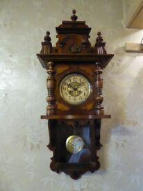 2 Door wall clock