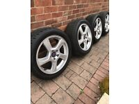 Volvo S60 alloy wheels and tyres 17""