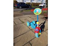 Good Condition Peppa Pig Kids Scooter