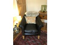 Tetrad Buster Genuine Leather Tub Chair
