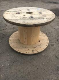 Cable reels garden table pallet furniture rustic