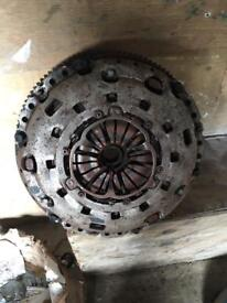 2010 transit 5 speed dual mass fly wheel and clutch