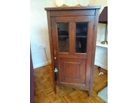 Wood Cabinet with Glass front