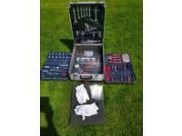 Mechanics Tool Box Trolley 599pcs