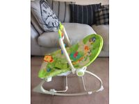 Fisherprice Rainforest swing/rocker chair