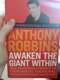 Anthony Robbins awaken the giant within.