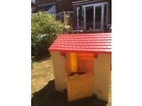 Little tikes playhouse with phone . Collect only