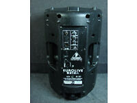 Behringer EUROLIVE B212A Active Speakers large in mint condition only £70 each x4
