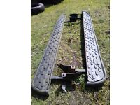 Discovery 1/ range rover classic runner boards - good solid condition.