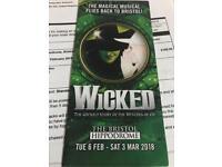Premium Tickets for Wicked Bristol Hippodrome
