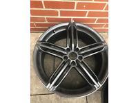 RS6 Audi A4 VW alloy wheel
