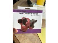 Brand new one touch car mount