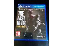 PS4 games: cod, last of us, nfs, mafia, ff, skyrim