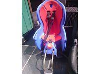 Maxi-cosi car seat 9-18kg and halfords bike seat