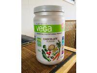 Vega Chocolate plant based protein powder 613g.