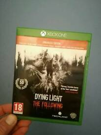 Dying light .Xbox one