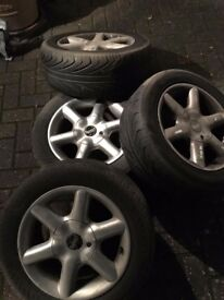 Wheels and alloys excellent condition