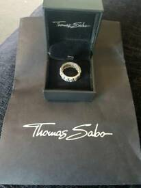 Genuine Thomas sabo skull ring