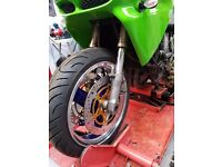 Zx9r 1996 forks