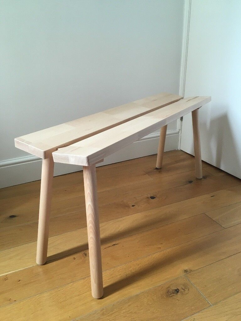 Ikea X Hay Ypperlig Bench Beech Brand New Perfect