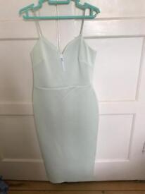 Mint green ASOS dress size 10 never worn