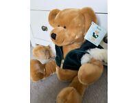 Harrods Traditional Christmas Bear 2001