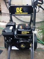 brand new B.E gas power washer 2700 psi