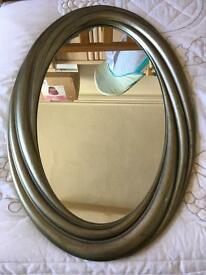Oval mirror