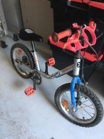 """Btwin children's 14"""" bike"""