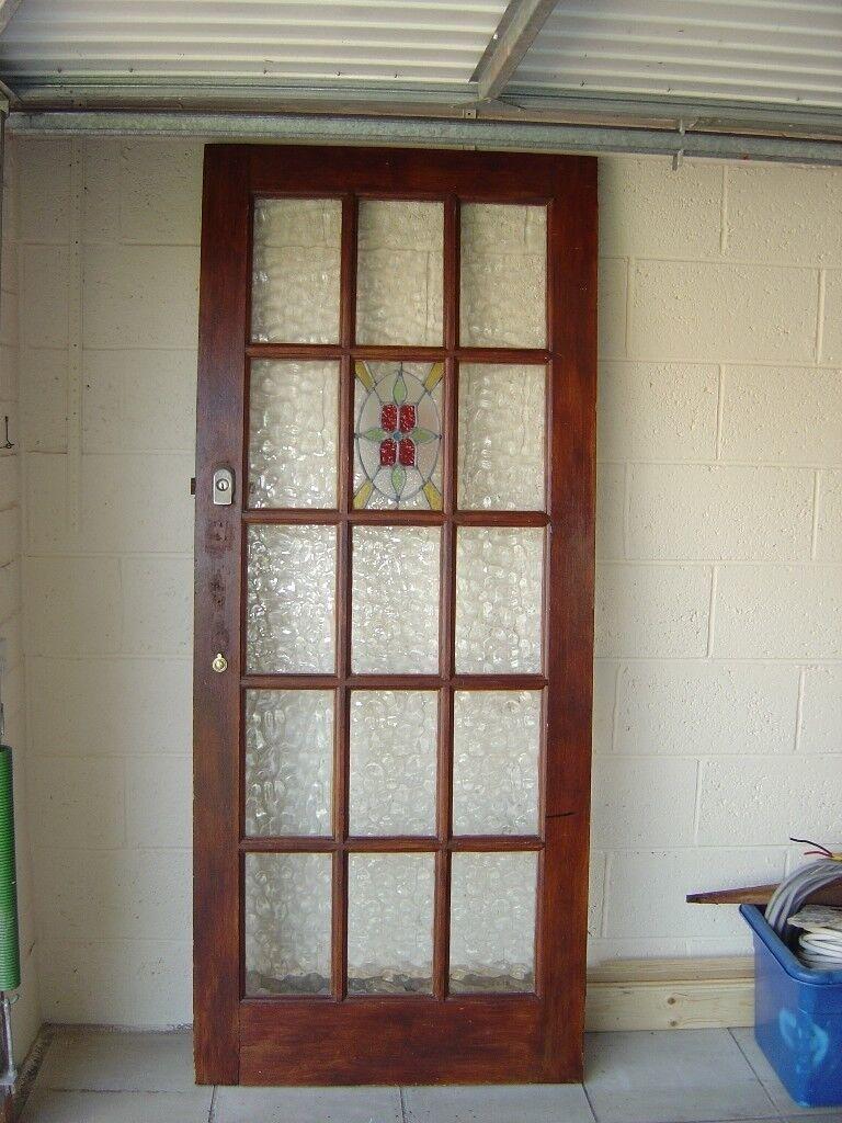 Front Door Wooden Glass Panels In Bearsden Glasgow Gumtree