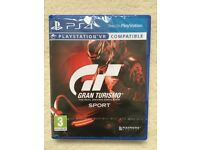GRAN TURISMO SPORT PS4 GAME - BRAND NEW AND SEALED