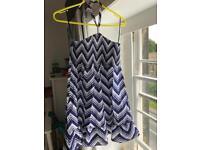 Girl's tube halter dress
