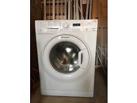Hotpoint Washing Machine in White - 1 yr old