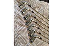 Titleist AP2 Irons Regular shafts.
