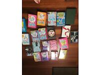 Dork diary collection and other girls books