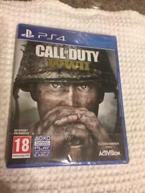 PS4 Call of duty WWWII