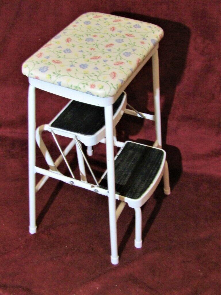 Magnificent Vintage 70S Beldery Ltd Folding Step Stool White Ladder Retro Seat Design In Bradwell Norfolk Gumtree Pdpeps Interior Chair Design Pdpepsorg