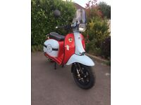 SCOMADI 125TL -194 miles only!!!