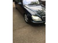 Mercedes s class petrol 2001 51 reg spares or repair