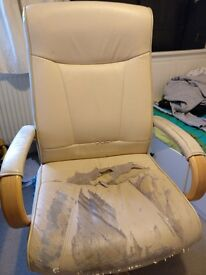 Free leather office chair - collect from Headington