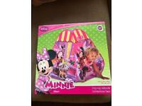 Minnie Mouse play tent brand new boxed