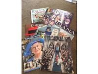 Royal family books and magazines huge bundle