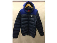 Black & Blue Nike Puffer Jacket - STA21
