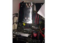 AMD FX 8 core 8350 MSI Gaming Kombo kit